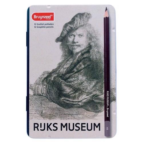 Image of   Bruynzeel, grafit blyanter 12 stk