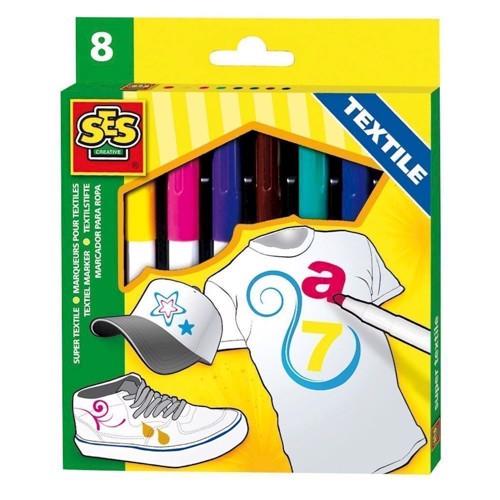 Image of SES textile markers, 8pcs. (8710341002695)