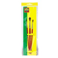 SES brushes, 3pcs.