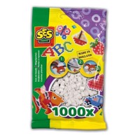 SES Ironing beads and white, 1000pcs.