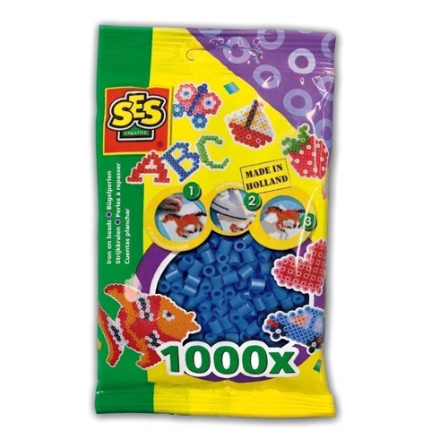 Image of   SES Ironing beads-dark blue, 1000pcs.