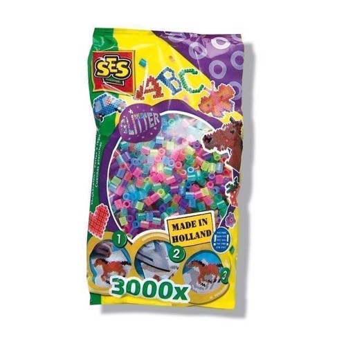 Image of   SES Ironing beads-Glitter, 3000pcs.