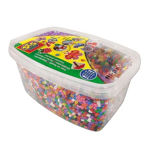 Image of   SES Ironing beads box, 12000st.