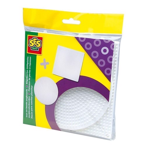 Image of   SES Ironing beads plates, 2pcs.