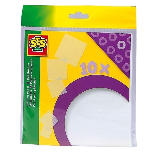 Image of   SES Ironing beads paper, 10pcs.