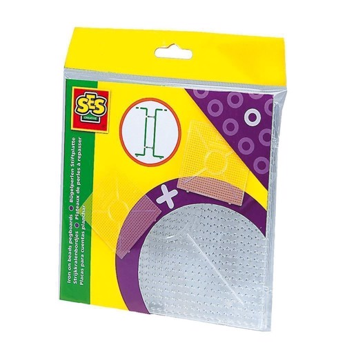 Image of   SES Ironing Beads Torque Plates-Transparent