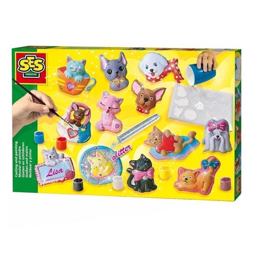 Image of SES plaster casting-dogs and cats (8710341011543)