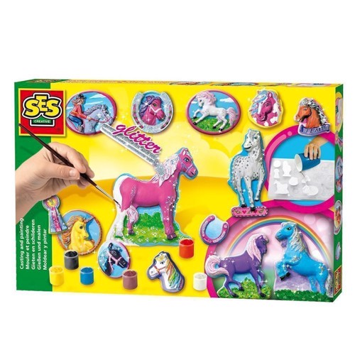 Image of SES horses pouring us paint (8710341011550)