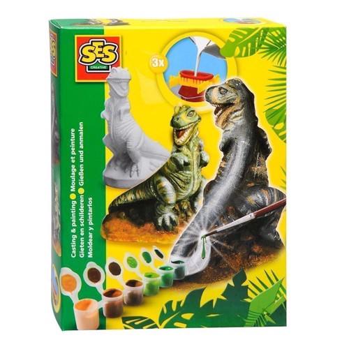 Image of SES plaster figure T-Rex (8710341012830)