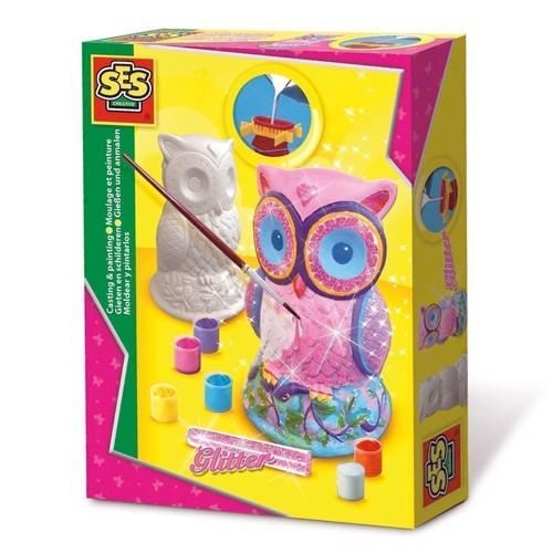 SES plaster figure owl