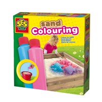 SES Sand colors-Blue and pink