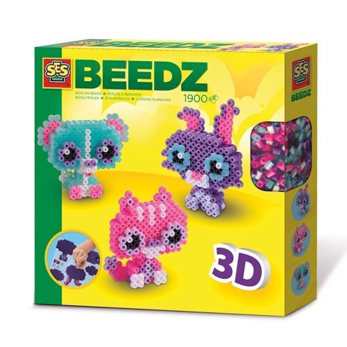 Image of   SES Beading Beads Animal Friends 1900 Beads