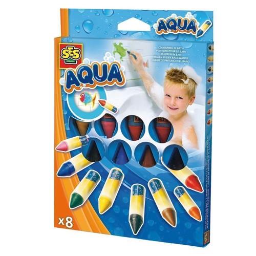 Image of SES bathtubs paint pens 8 colors (8710341130220)