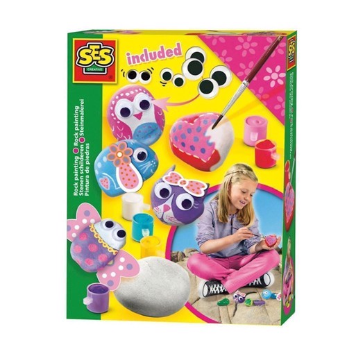 Image of SES stones painting Girly (8710341148430)