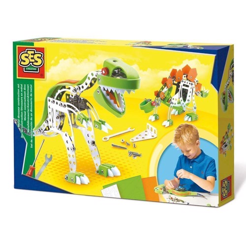 Image of   SES Metal Construction Set Dino
