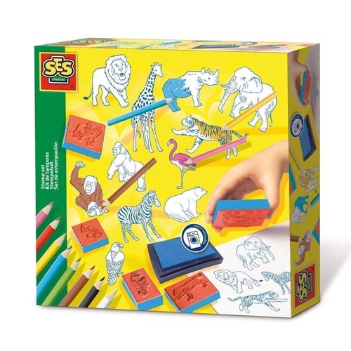 Image of   SES stamp kit Zoo