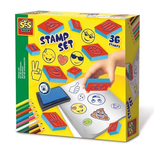 Image of   SES stamp kit Emoticons