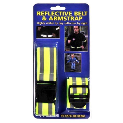 Image of   Refleksbælte og armbånd