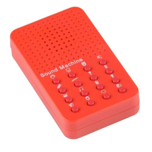 Image of Lydmaskine, rød (8711252159645)
