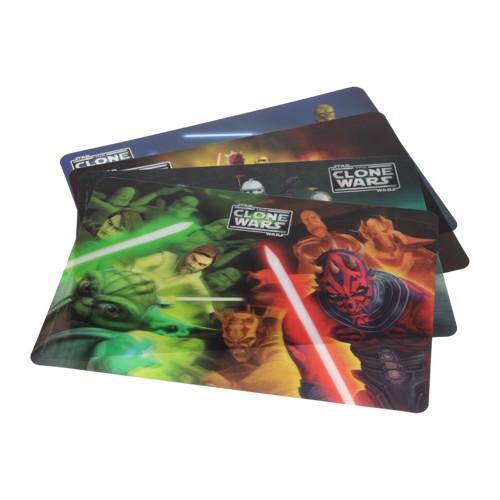 Image of Star Wars 3D dækkeserviet (8711252414287)