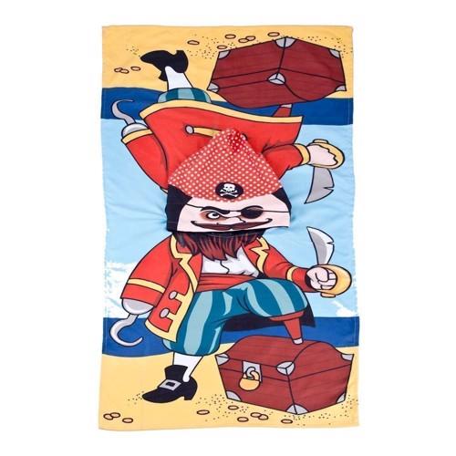 Image of Badehåndklæde med hætte - Pirat (8711252414546)