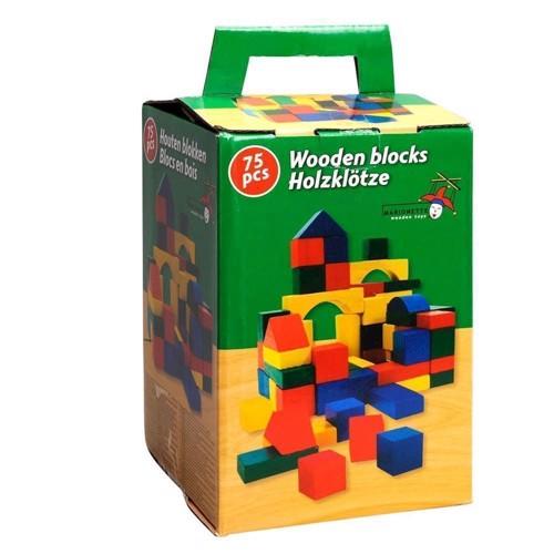 Image of Træklodser i kasse, 75 stk (8711252440279)