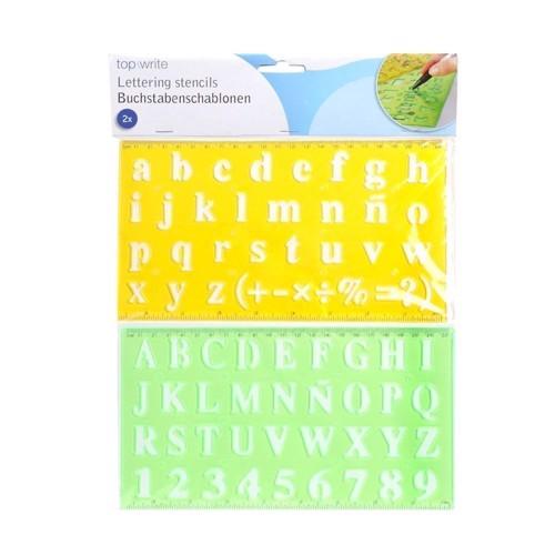 Image of   Alfabet og tal rammer