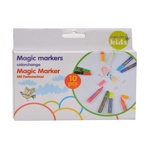Image of   Magic Markers, Magiske Tuscher der skifter farve