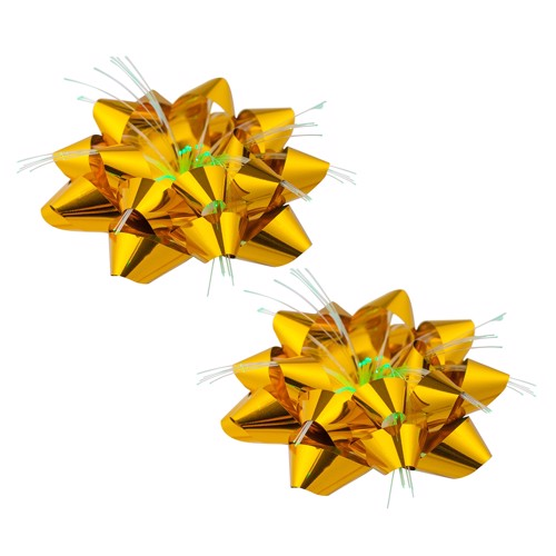 Image of   Christmas bow star with Light
