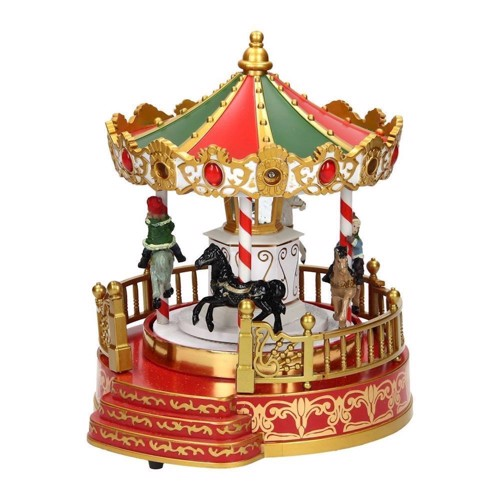 Image of   Christmas carousel with LED-B