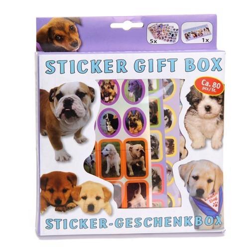 Image of   Sticker Sæt, klistermærker med hunde