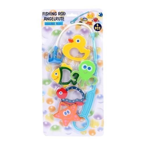 Image of   Fiskespil til børn, 6 dele