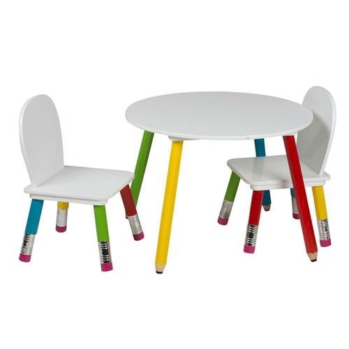 Image of   Børnebord med to stole
