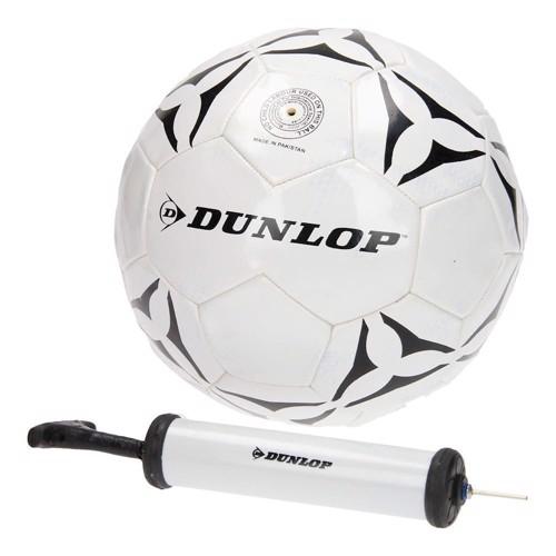 Image of   Dunlop fodbold med pumpe