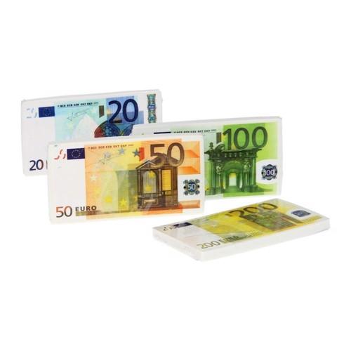 Image of   Viskelæder, penge, Euro