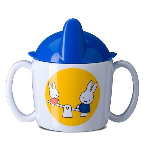 Image of Rosti Mepal baby drikke kop, Miffy på tur (8711269878980)