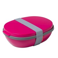 Mepal Lunchbox Ellipse Duo-Pink