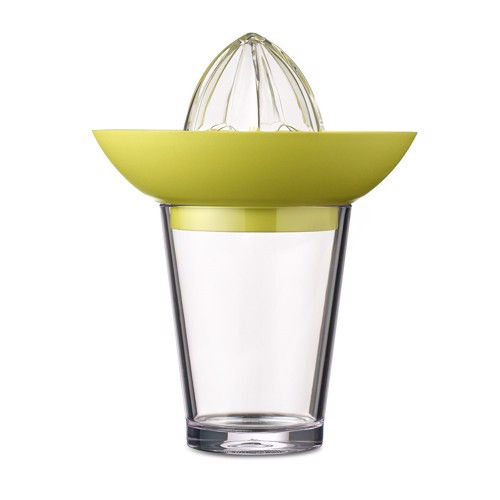 Image of   Rosti Mepal Citrus Press With Glass Flow-Lime