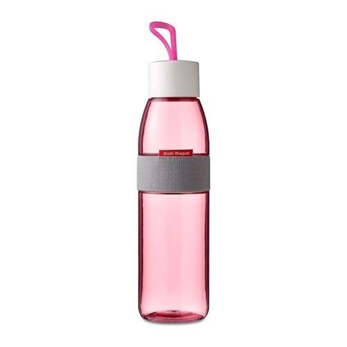 Image of   Rosti Mepal Ellipse Vandflaske 500 ml Transp./pink