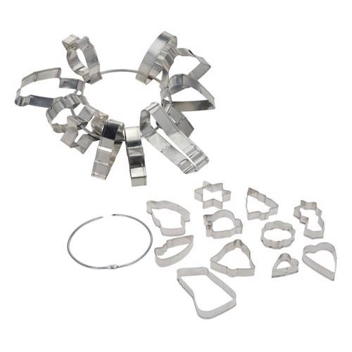 Image of Bageforme på ring, 11 stk (8711295154317)