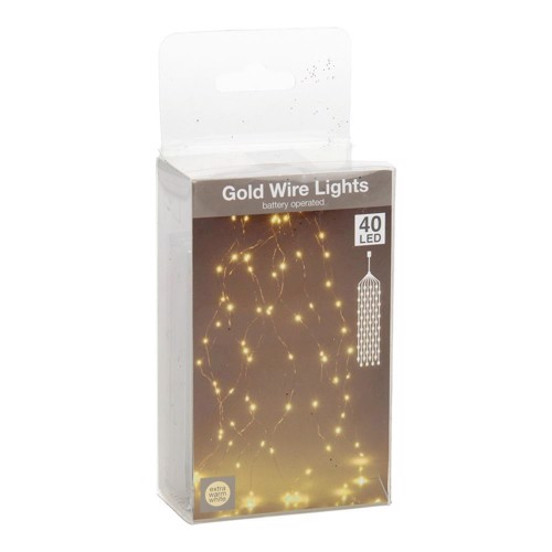 Image of Led Lights Gold Wire