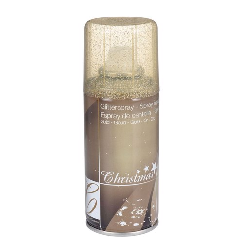 Image of   Glitter spray Guld