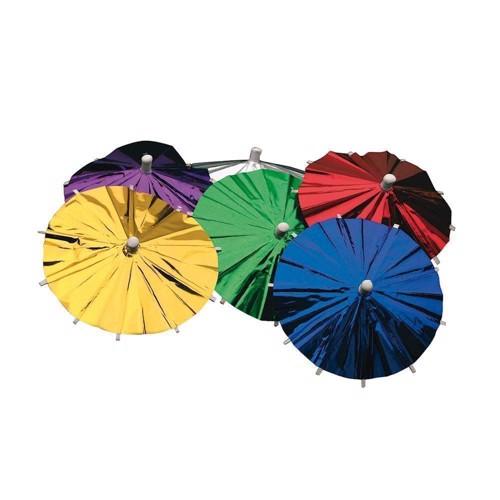 Image of Is / drinks parasol, Metallic, 8 stk