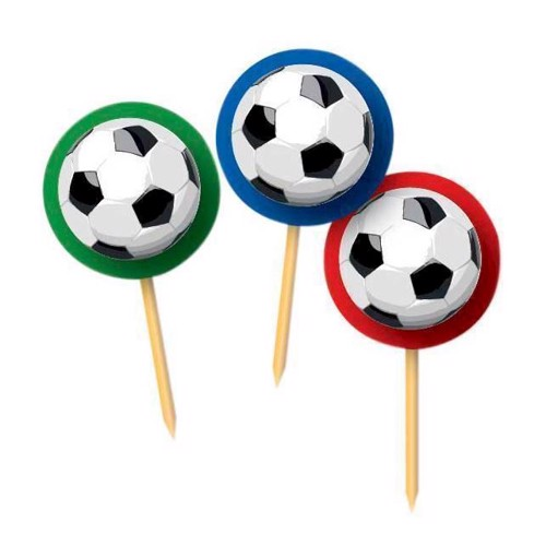Image of   Party sticks Goal, 20pcs.