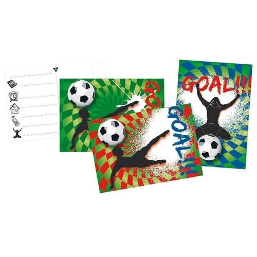Image of   Invitations Goal, 6pcs.