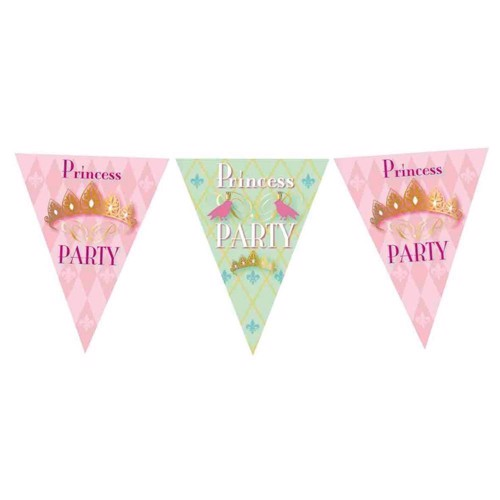 Image of   Flags line Princess Party, 6mtr.