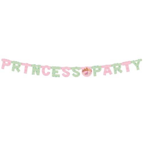 Fødselsdags guirlande Prinsesse