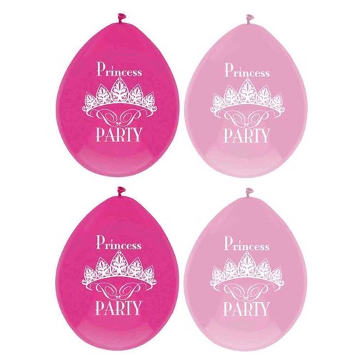 Image of   Princess Party balloons, 6pcs.
