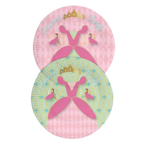 Image of   Princess Party signs, 8pcs.