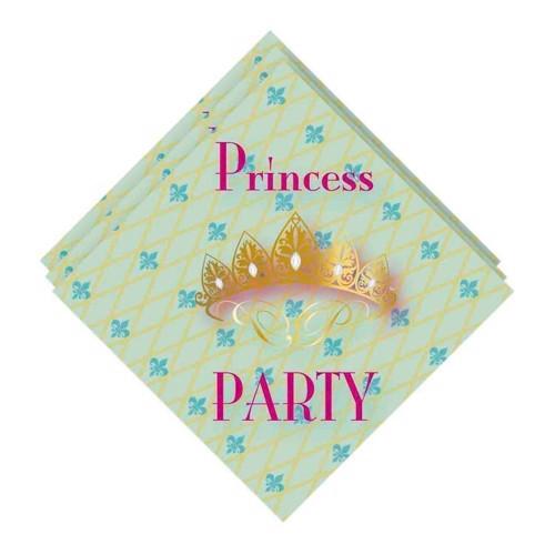 Image of   Napkins Princess Party, 20pcs.